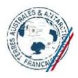 Logo terres australes & antarctiques françaises